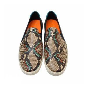 Cole Haan GrandPro Snake Print Spectator Sneakers